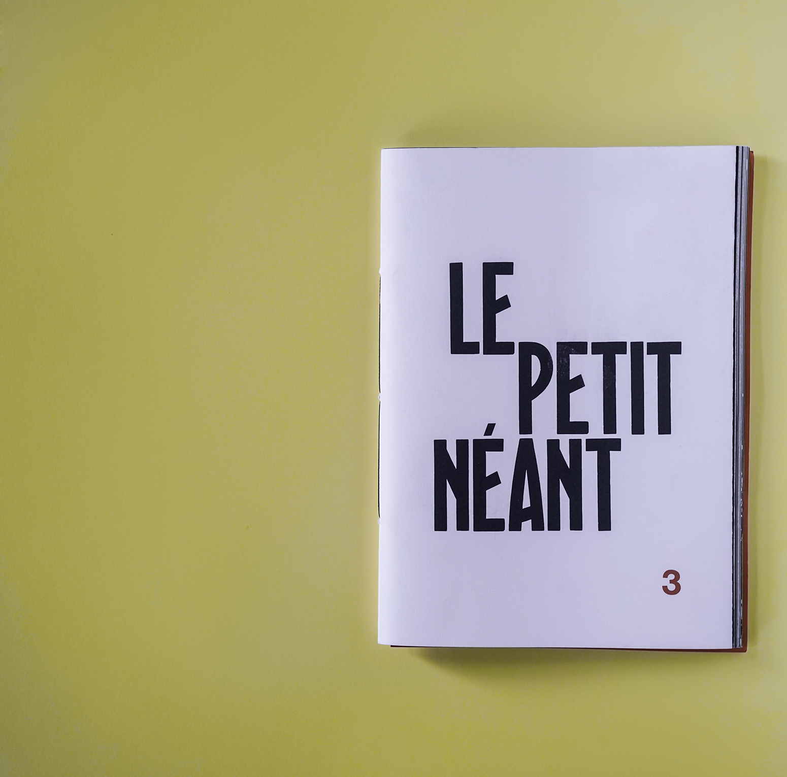 Le Petit Neant Issue 3 / Drawing Magazine - collaboration